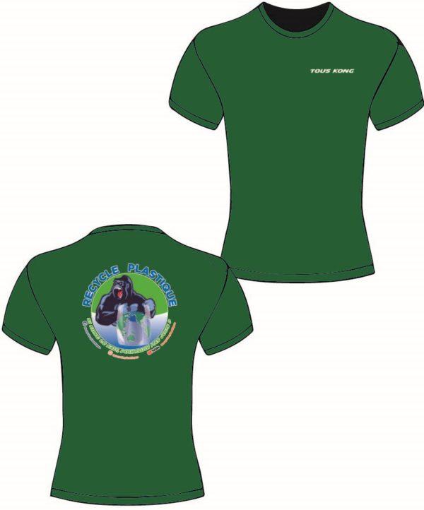 teeshirt kong vert 600x722 - Tee-shirt Kong
